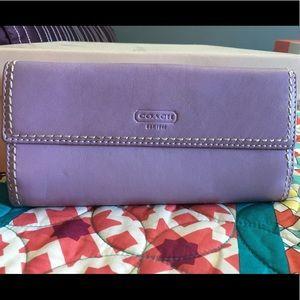 EUC authentic coach wallet